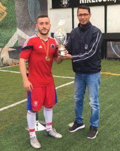 Premiación al equipo campeón