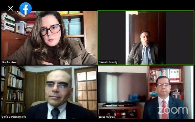 Panel en Vivo 30 años de la Constitución de Colombia, presentado por la Fundación Universitaria San Martín